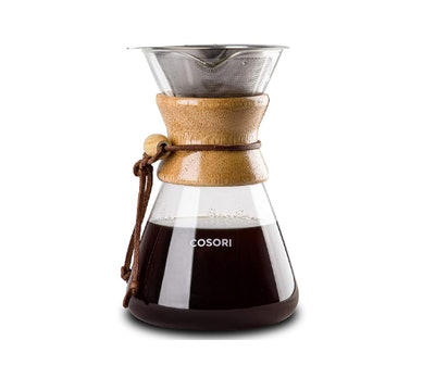 COSORI 34 Ounce Glass Coffee Pot & Coffee Brewer