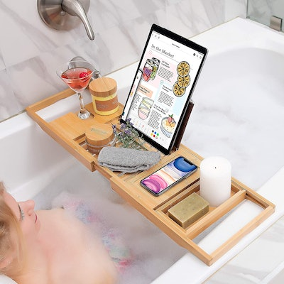Homemaid Living Store Bamboo Bathtub Tray