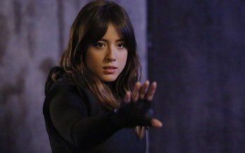 Chloe Bennet as Daisy Johnson/Quake in Agents of S.H.I.E.L.D.