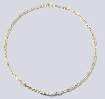 Toujours Graduated Diamond Necklace