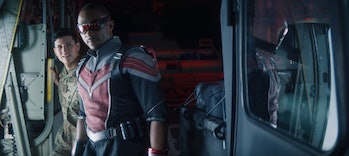 Falcon and Winter Soldier Joaquin Torres