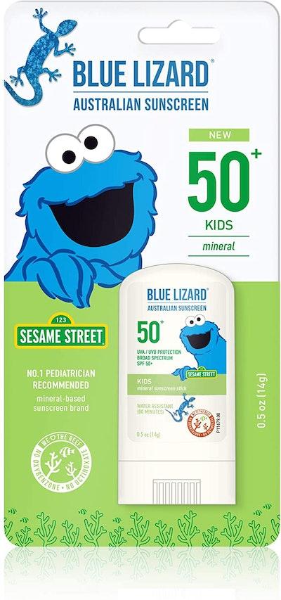 Blue Lizard Australian  Sunscreen Stick  SPF 50+ (0.5 Oz)