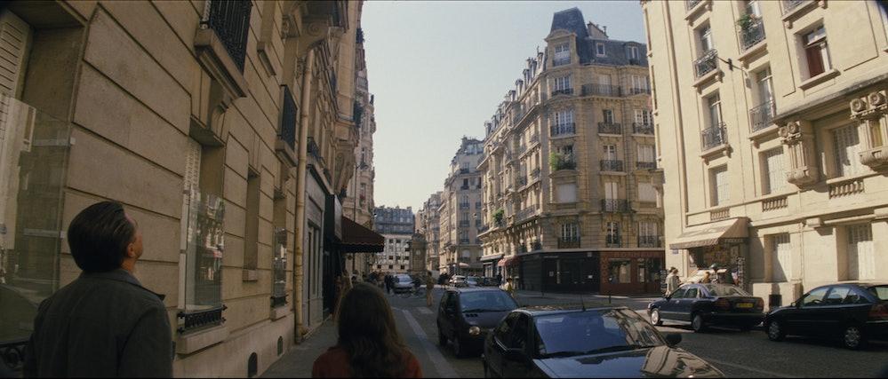 'Inception' visual effects Paris scene