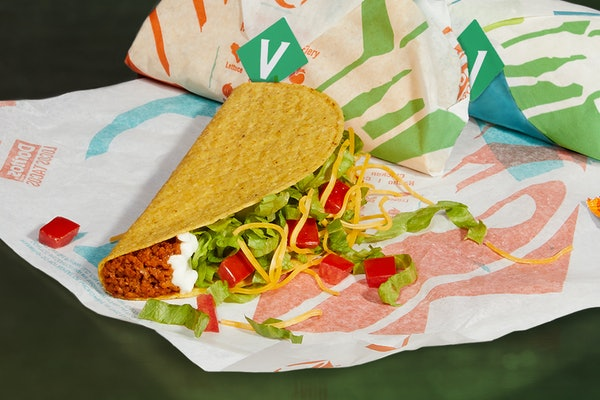 Taco Bell is testing a Cravetarian Taco with plant-based meat, and here's the scoop.