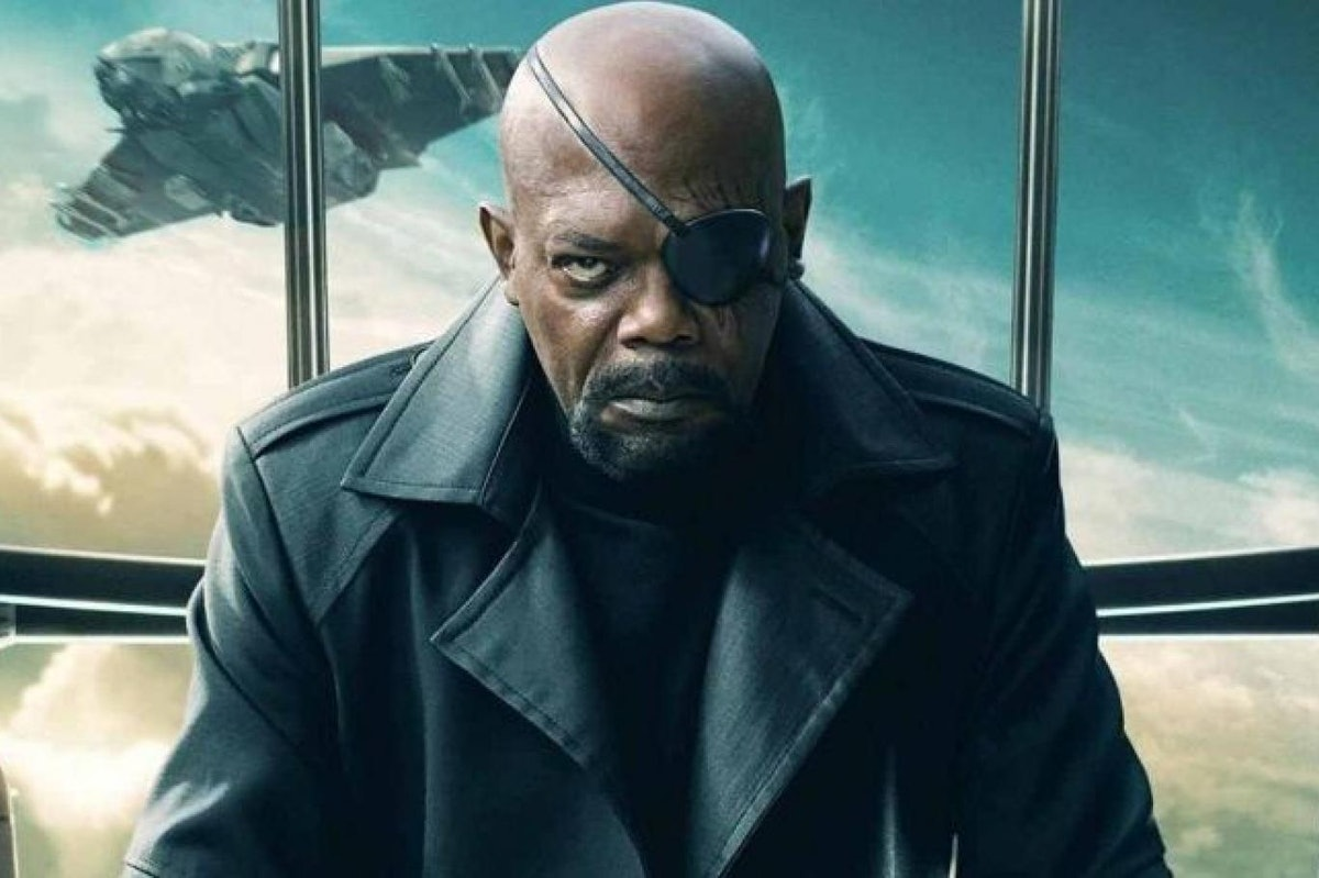 Samuel L. Jackson as Nick Fury in Avengers: Age of Ultron