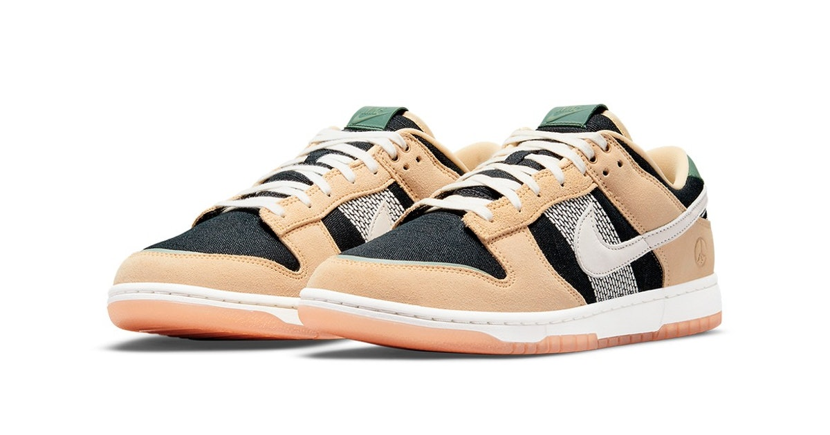 """Nike's """"Rooted in Peace"""" Dunk shoe draws inspiration from Japanese gardening"""