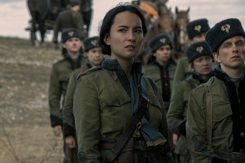 Jessie Mei Li as Alina in 'Shadow & Bone,' via Netflix press site.
