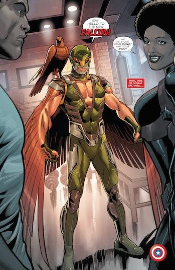 Captain America Sam Wilson Falcon Joaquin Torres