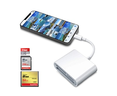 DenicMic SD Card Reader Compatible with iPhone iPad