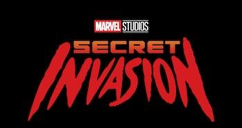 Secret Invasion TV series Disney+ Marvel logo