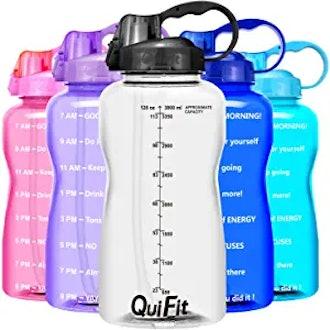 QuiFit Motivational Gallon Water Bottle
