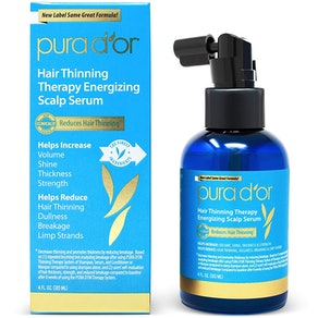 PURA D'OR Hair Thinning Therapy Energizing Scalp Serum, 4 Fl. Oz.