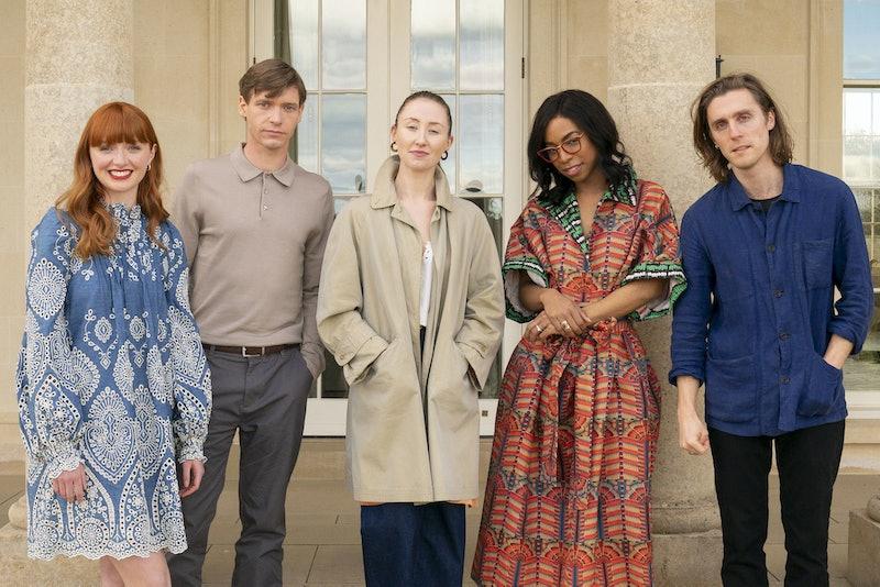 Chloe (POPPY GILBERT), Elliott (BILLY HOWLE), Becky (ERIN DOHERTY), Livia (PIPPA BENNETT-WARNER), Richard (JACK FARTHING) in BBC ONE's Chloe