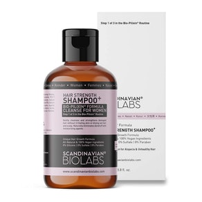 Scandinavian Biolabs Hair Strength Shampoo, 3.8 Fl. Oz.