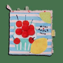Manhattan Toy Mini-Apple Farm Soft Activity Crinkle Book
