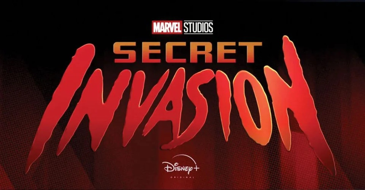 The official Secret Invasion logo for Disney+
