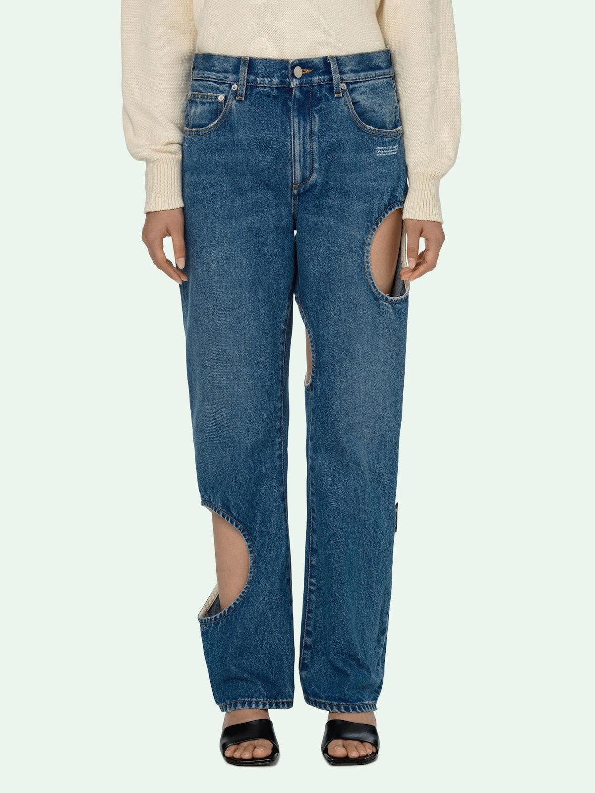 Holes Baggy Pants