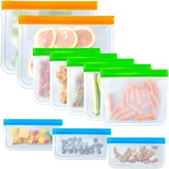 KoolerThings Reusable Sandwich Bags (10-Pack)