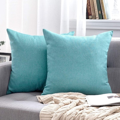 MIULEE Decorative Outdoor Throw Pillow Covers (Pack of 2)