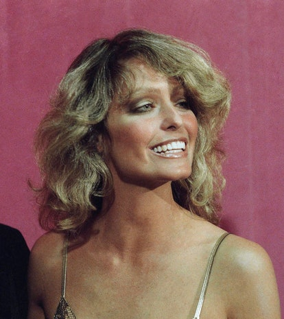 Best Oscars beauty looks: Farrah Fawcett.