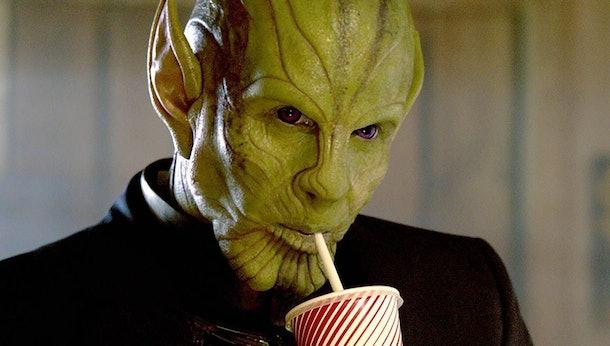 Ben Mendelsohn as Talos in Captain Marvel