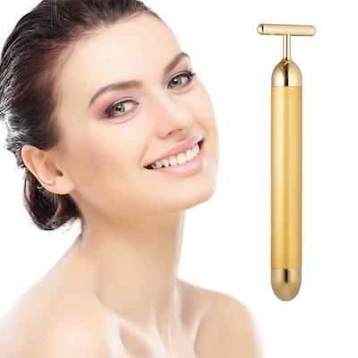 DANGSHAN Beauty Bar 24k Golden Pulse Facial Massager