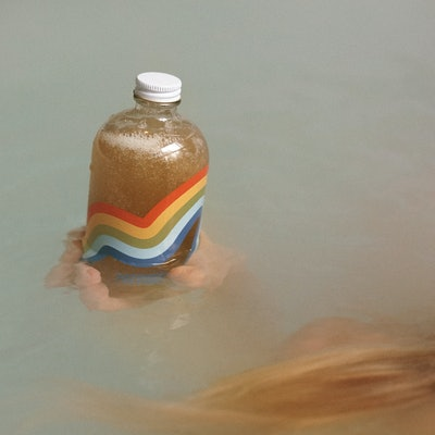 Bathing Culture Refillable Rainbow Glass Mind and Body Wash