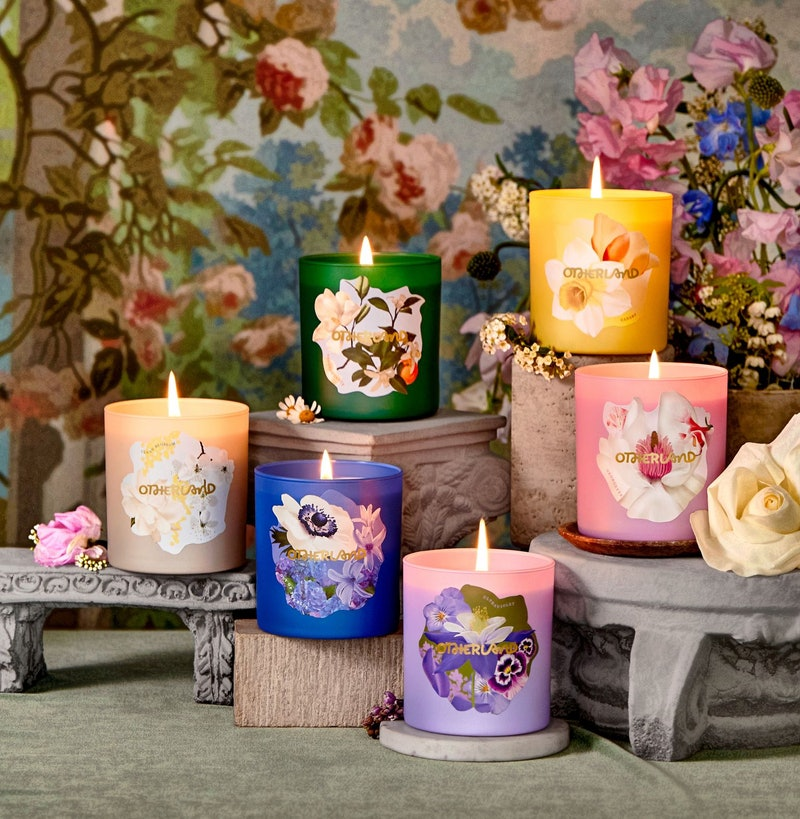 candles otherland garden party collection