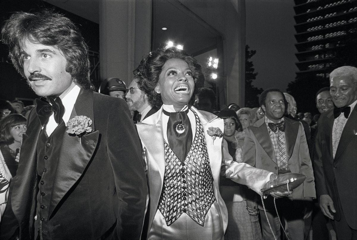 Diana Ross and Bob Ellis
