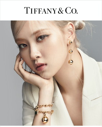BLACKPINK's Rosé stars in Tiffany's new HardWear campaign, representing the brand as its global ambassador for the first time ever.