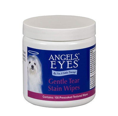 Angels' Eyes Gentle Tear Stain Presoaked and Textured Wipes