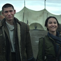 Mal and Alina in 'Shadow and Bone' via Netflix press site.