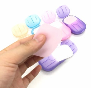 Portable Travel Hand Soap (6-Pack)