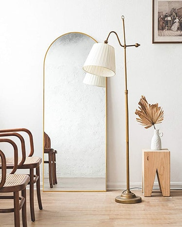 TinyTimes Arched Full-Length Mirror