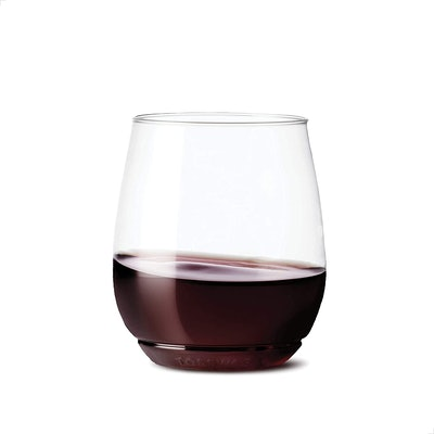 TOSSWARE Unbreakable Wine Glasses (Set of 12)