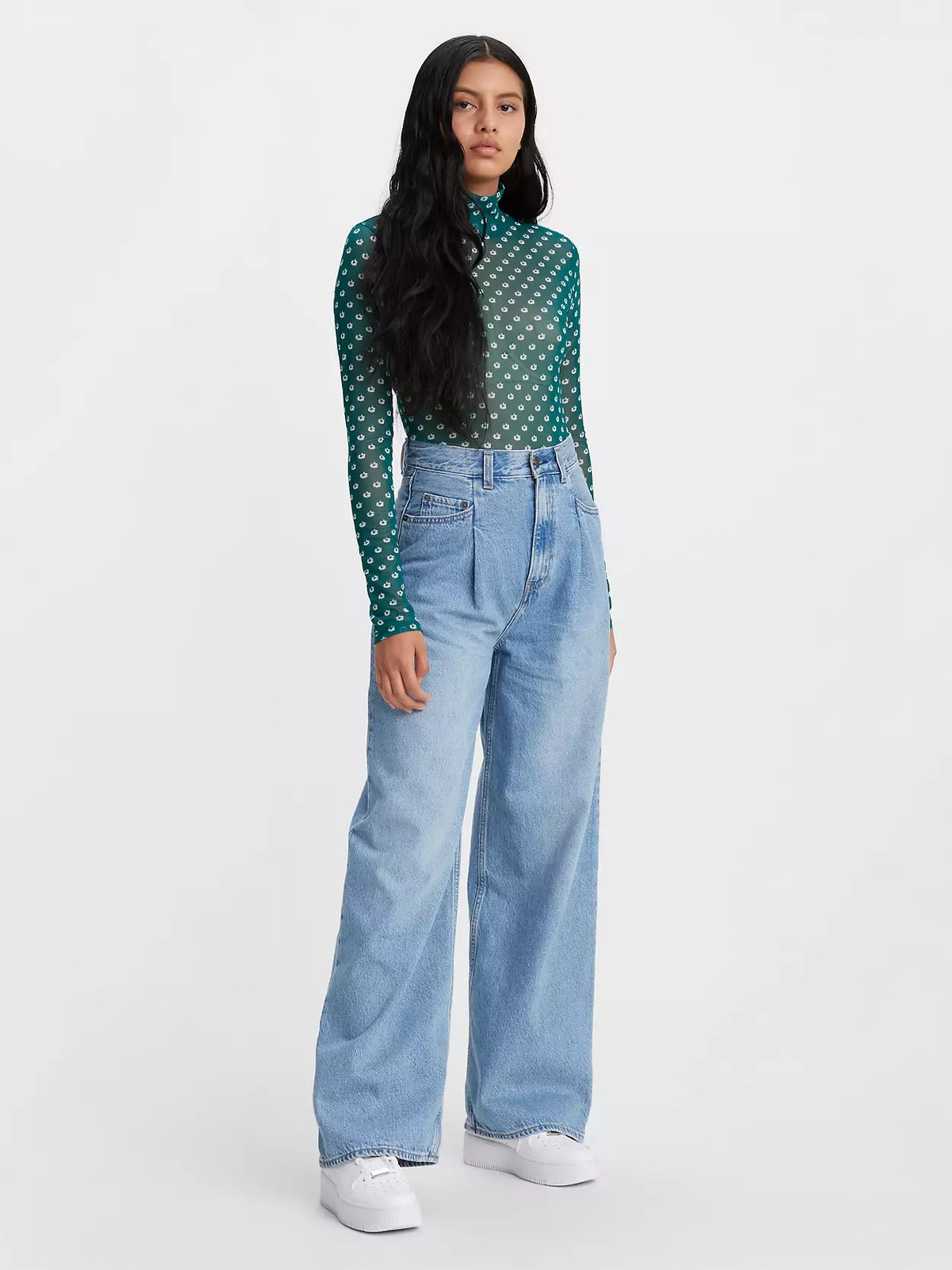 Tailored High Loose Women's Jeans