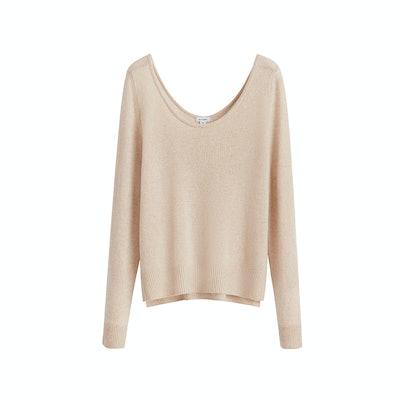 Cuyana Single Origin Cashmere Scoopneck Sweater