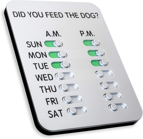 DYFTD The ORIGINAL 'Did You Feed the Dog?' Magnet