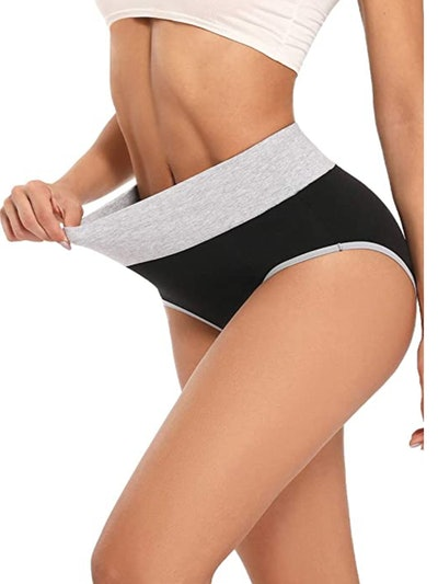 Cassney High Waisted C Section Cotton Panties
