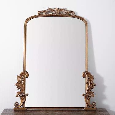 Kirkland's Gold Bordeaux Ornate Scroll Mirror