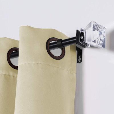 Turquoize Decorative Single Curtain Rod