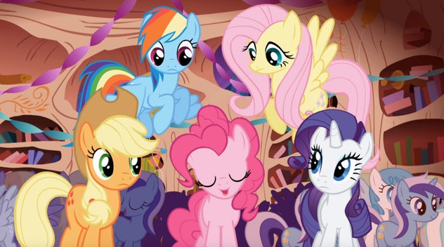 'My Little Pony: Friendship Is Magic' is a franchise reboot by animator Lauren Faust.