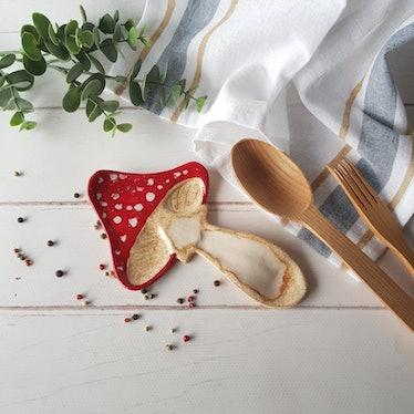 Mushroom Spoon Rest