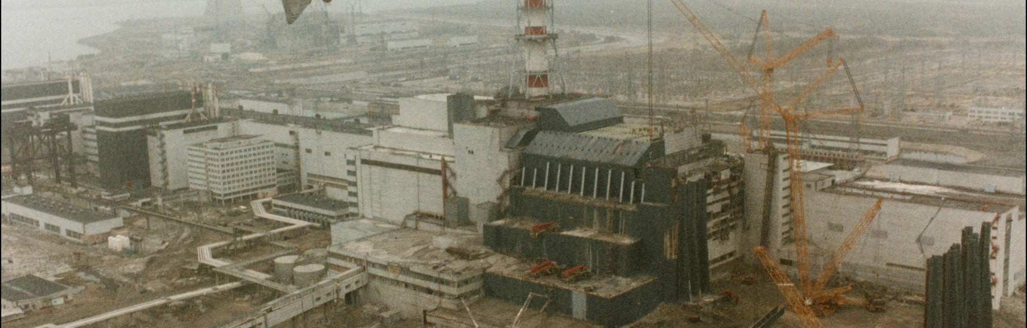 Chernobyl Nuclear Power Plant after the explosion