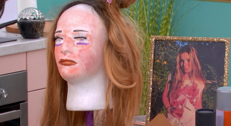 Emily's mannequin head in 'The Circle' Season 2.