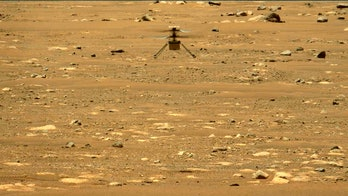 perseverance takes picture of mars helicopter ingenuity
