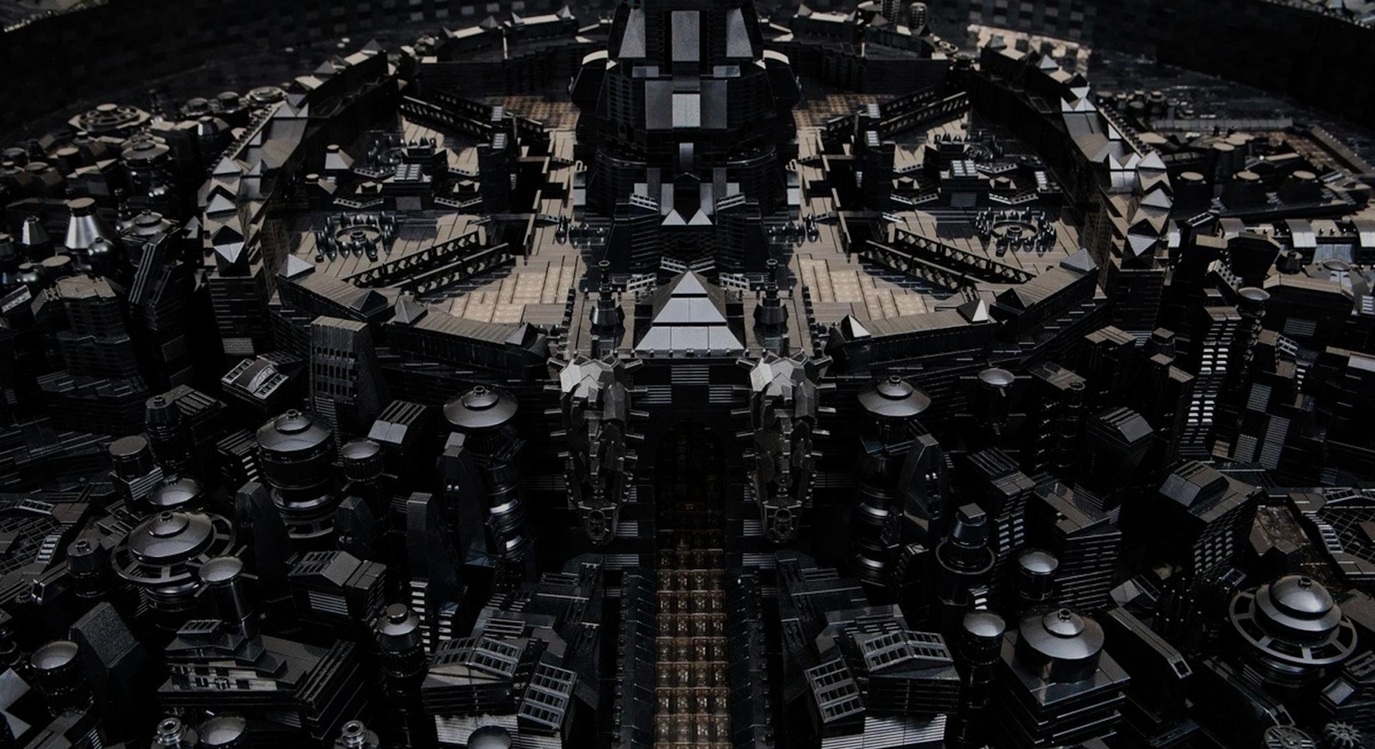 Ekow Nimako's black Lego project called Kumbi Saleh.