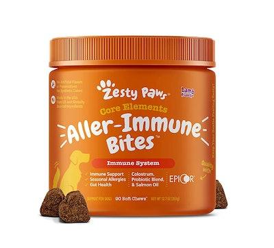 Zesty Paws Allergy Immune Supplement