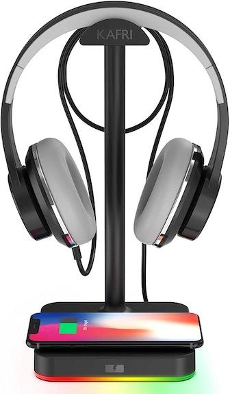 KAFRI Headset Holder & Wireless Charger