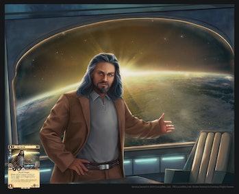 Talon Karrde Lost Legends Mandalorian Season 3